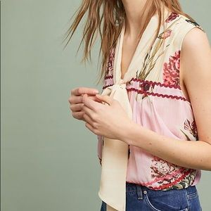 Anthropologie Verb Lodi Flora Blouse